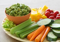 Guac & Veggies