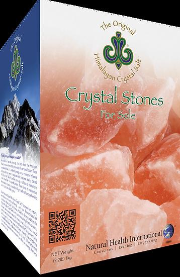 Himalayan Crystal Salt: Stones - 2.2 lbs