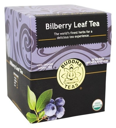 Bilberry Leaf Tea - 18 Tea Bags
