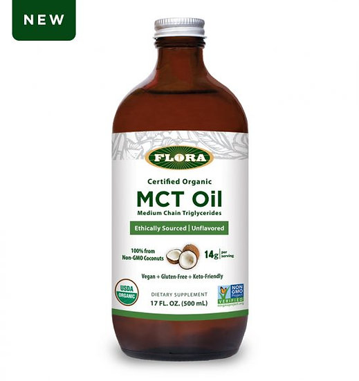 Organic MCT Oil - 17 oz