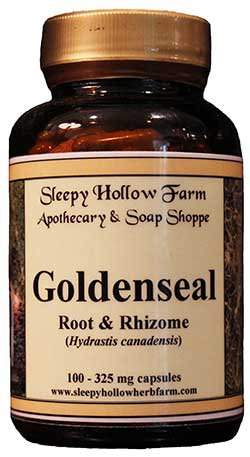 Goldenseal Root and Rhizome 325 mg - 100 capsules
