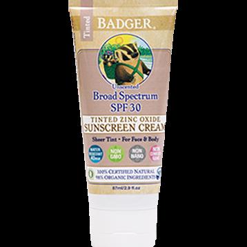 Tinted Sunscreen Cream SPF 30 - 2.9 oz