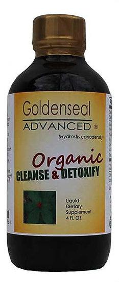 Goldenseal Advanced Original Cleanse and Detoxify - 4 oz
