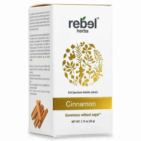 Cinnamon Dual Extracted Powder - 1.15 oz