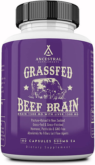 Grass-Fed Brain - 180 caps
