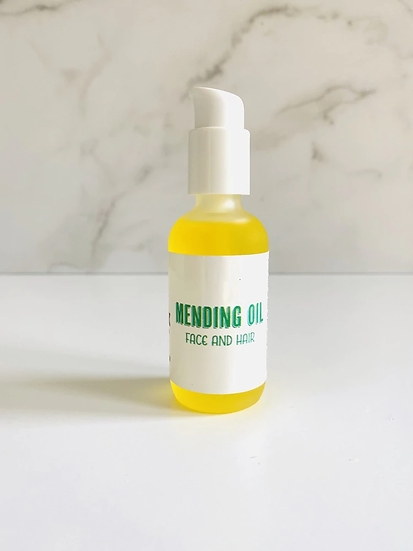 Mending Oil for Face and Body - 2 oz