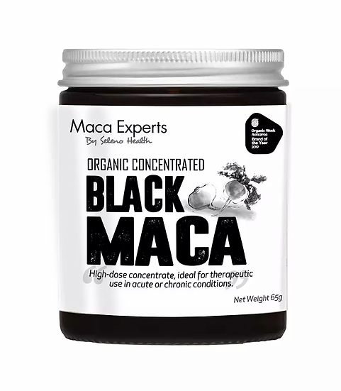 Organic Activated (Gelatinized) and Concentrated Black Maca - 65 grams