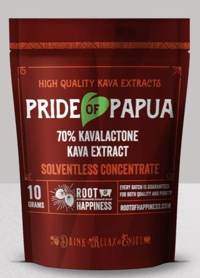 Pride of Papua 70% CO2 Kava Extract Concentrate - 10 grams