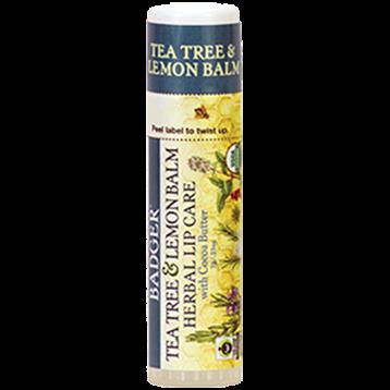 Tea Tree & Lemon CB Lip Balm - .25 oz