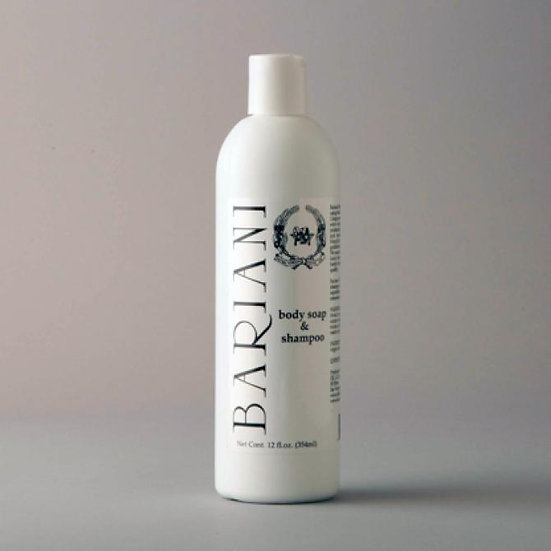 Olive Oil Body Soap and Shampoo - 12 oz