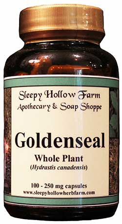 Goldenseal Whole Plant 250 mg - 100 capsules
