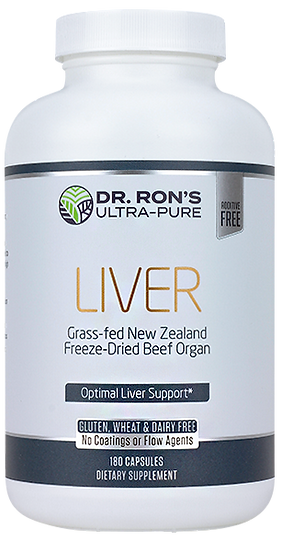 Grass-Fed Liver - 180 caps