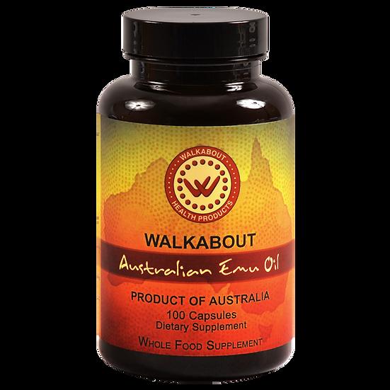 Australian Emu Oil - 100 Capsules