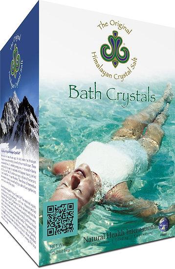 Himalayan Crystal Salt: Bath - 2.2 lbs