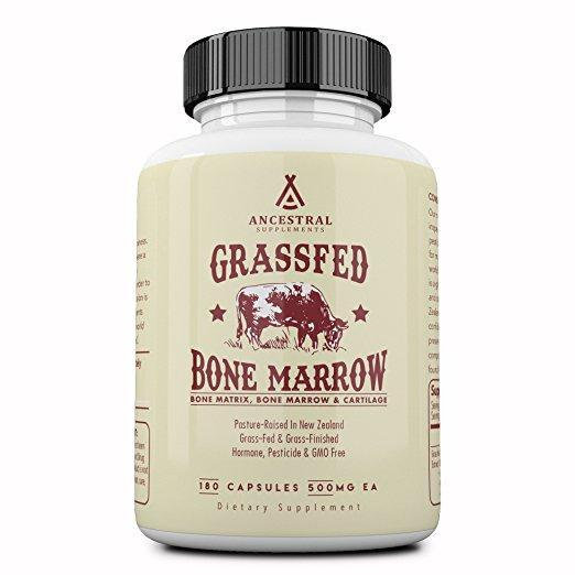 Grass-Fed Bone Marrow (Whole Bone Concentrate) - 180 caps