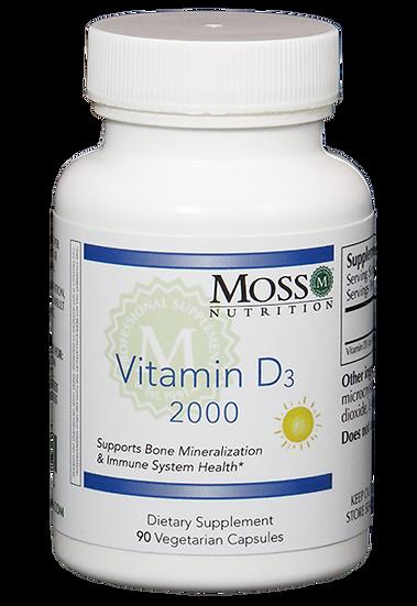 Vitamin D3 2000 - 90 caps