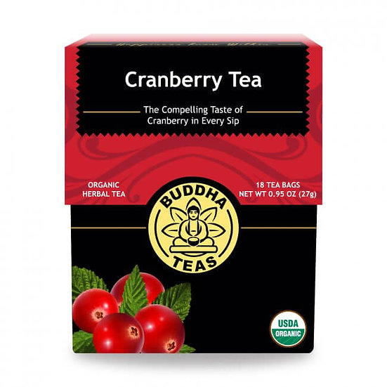 Cranberry Tea - 18 Tea Bags