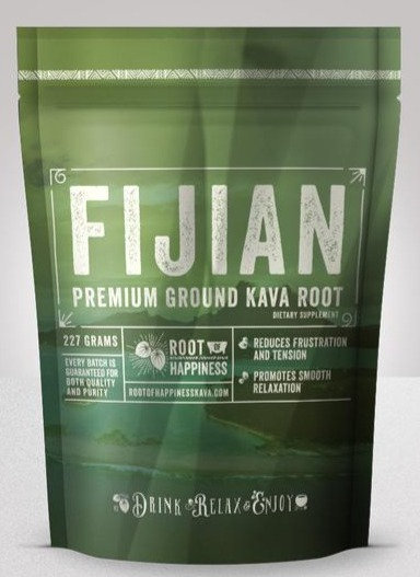 Fijian Premium Ground Kava Root - 8 oz