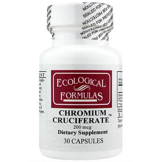 Chromium Cruciferate 200 mcg - 30 caps