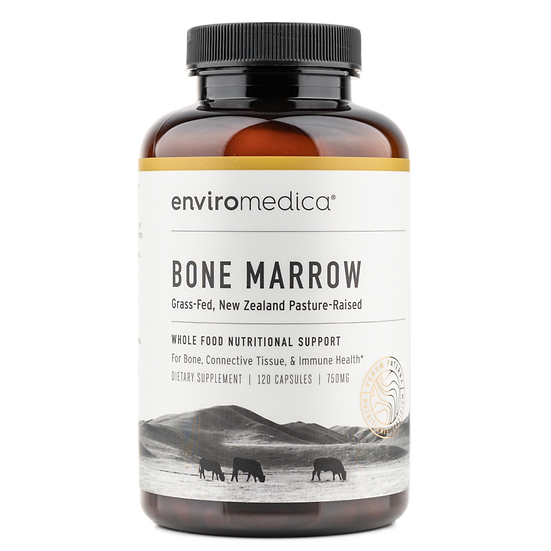 Grass-Fed Bone Marrow (Whole Bone Concentrate) - 120 caps