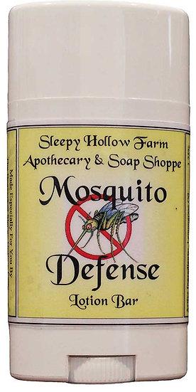 Mosquito Defense Lotion Bar - 2.5 oz