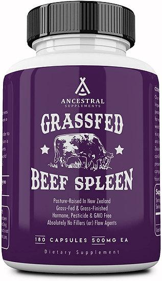 Grass-Fed Spleen - 180 caps