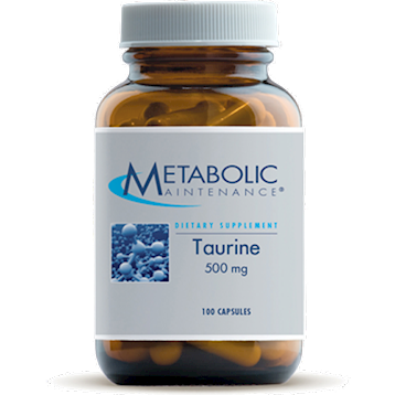 L - Taurine 500 mg - 100 caps