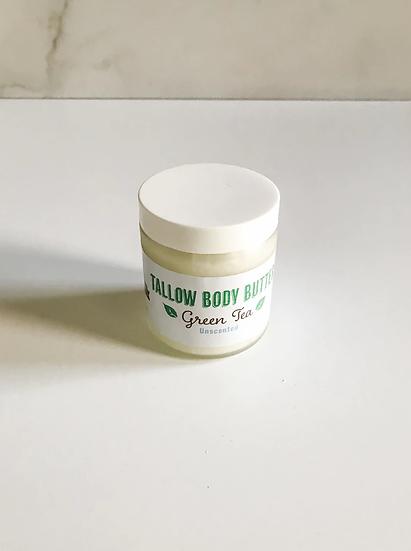 Body Butter Unscented Green Tea - 4 oz