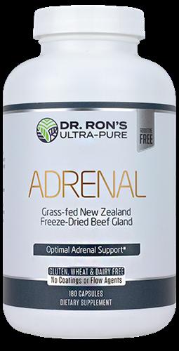 Grass-Fed Adrenal - 180 caps