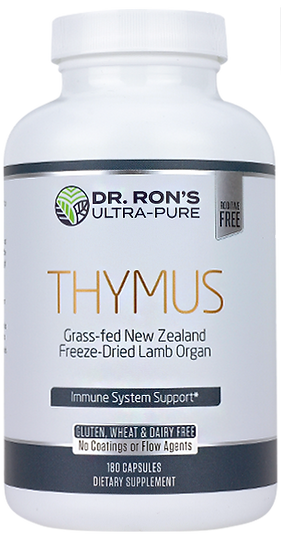 Grass-Fed Thymus - 180 caps
