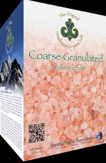 Himalayan Crystal Salt: Coarse - 2.2 lbs