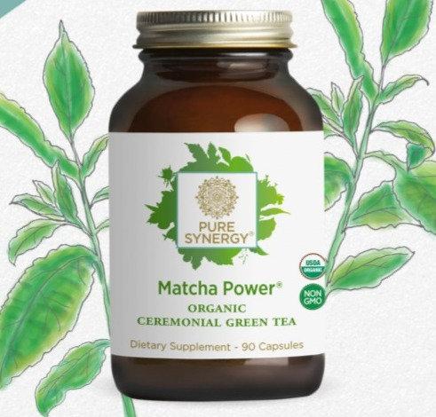 Organic Matcha (Green Tea) Power - 90 caps