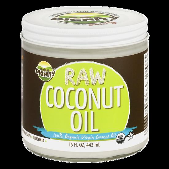 Raw Coconut Oil - 15oz