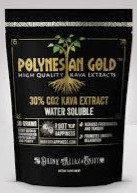 Polynesian Gold™ Water Soluble CO2 30% Kava Extract  - 50 gram