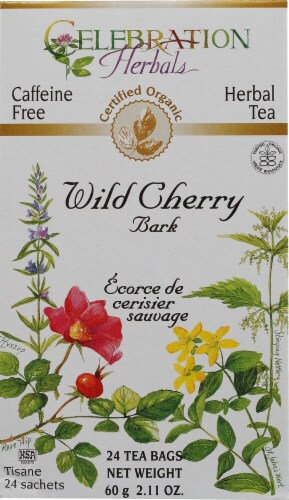 Organic Wild Cherry Bark - 24 tea bags