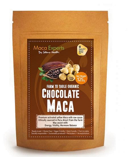 Organic Activated (Gelatinized) Chocolate Maca - 500 gram -3 pack