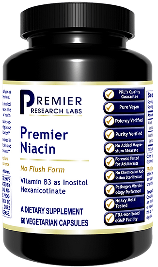 Premier Niacin (no flush) - 60 caps