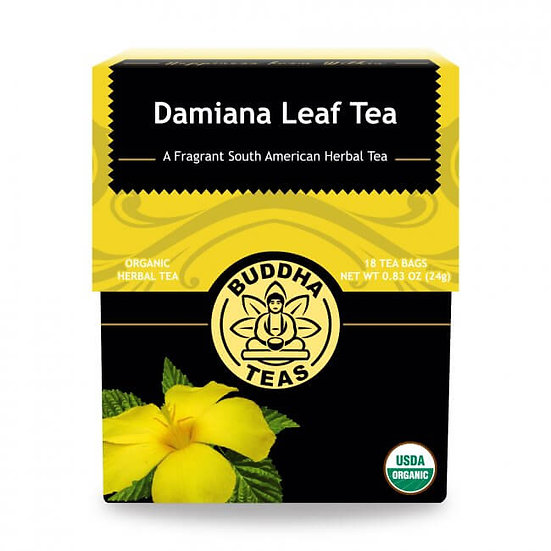 Damiana Leaf Tea - 18 Tea Bags