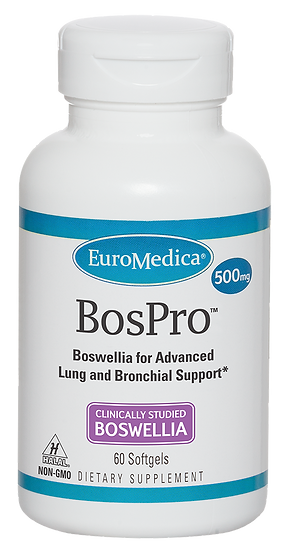 Boswellia BosPro 500 mg - 60 softgels