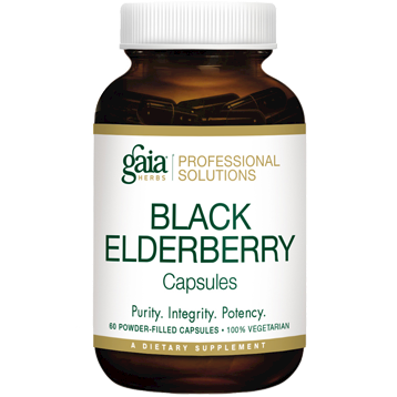 Black Elderberry - 60 caps