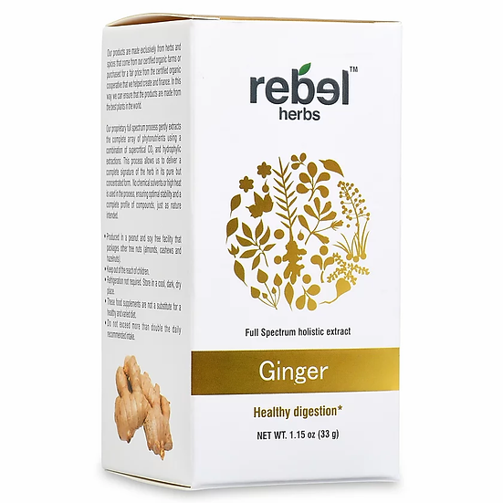 Ginger Dual Extract Powder - 1.15 oz