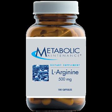 L - Arginine 500 mg - 100 caps