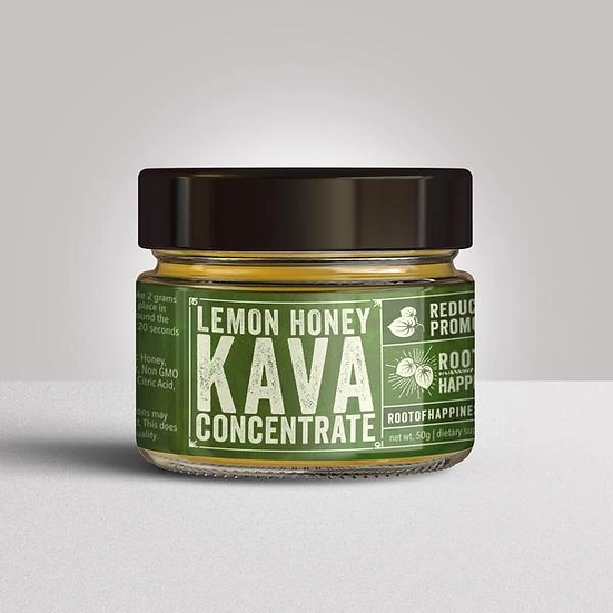 Polynesian Gold Lemon Honey Kava Concentrate - 50 grams