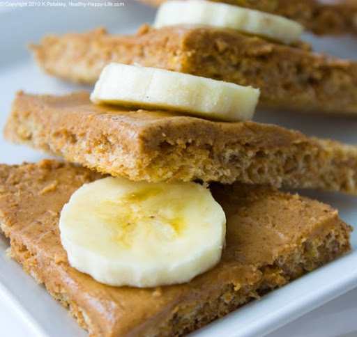 Almond butter & banana