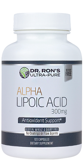 Alpha Lipoic Acid 300 mg - 120 caps