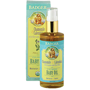 Calming Baby Oil - 4 oz