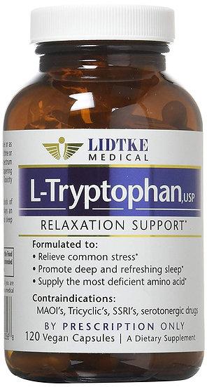 L - Tryptophan 500 mg - 120 caps