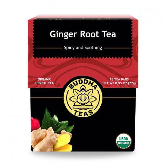 Ginger Root Tea - 18 Tea Bags