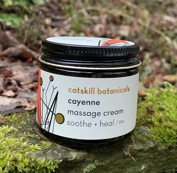 Cayenne Massage Cream - 2 oz
