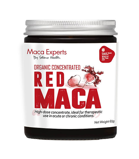 Organic Activated (Gelatinized) and Concentrated Red Maca - 65 grams